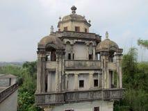 Сторожевая башня Kaiping Diaolou в месте всемирного наследия ЮНЕСКО Chikan Стоковое фото RF
