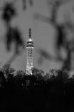 Сторожевая башня Petrin, Прага, чехия Стоковые Фотографии RF
