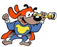 Сторожевой пес супергероя Стоковые Фотографии RF