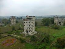 Сторожевые башни Kaiping Diaolou в провинции Гуандун в Китае Стоковые Фото