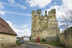 Сторожка аббатства сражения, Сассекс, Великобритания стоковые фотографии rf