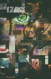 Сторона абстрактной женщины бесплатная иллюстрация