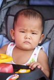 Сторона азиатского мальчика ребенка который 1-ти летний Стоковые Изображения RF