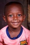 Сторона африканского мальчика стоковая фотография