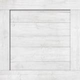 Сторона белых деревянной клети, коробки, стены или рамки Стоковые Изображения