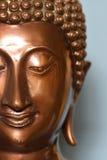 Сторона Будды, головы; буддизм; глаза Стоковая Фотография