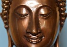 Сторона Будды, головы; буддизм; глаза Стоковое Изображение
