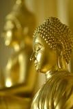 Сторона Будды, головы; буддизм; глаза Стоковые Фото