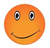 Сторона вектора Smiley счастливая Стоковое Изображение