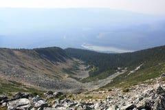 сторона горы стоковое фото
