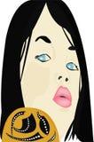 Сторона девушки Стоковая Фотография RF