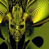 сторона демона Стоковые Изображения RF