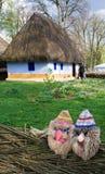 сторона деревенского дома Стоковая Фотография RF
