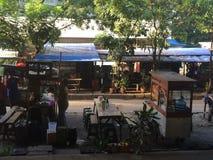 Сторона дороги в Джакарте Стоковая Фотография