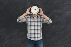 сторона заволакивания часов бизнесмена Стоковые Фотографии RF