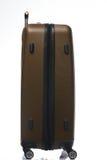 Сторона закрытого коричневого чемодана Стоковое Изображение RF