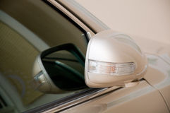 сторона зеркала автомобиля Стоковая Фотография RF