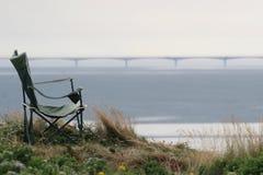 сторона конфедерации стула Канады моста к Стоковые Изображения