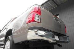 Сторона коричневого цвета vitage цвета грузового пикапа задняя Стоковая Фотография RF
