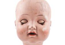 Сторона куклы изолированная на белизне Стоковые Фото