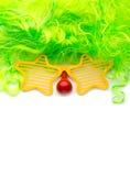 Сторона клоуна Стоковые Изображения RF
