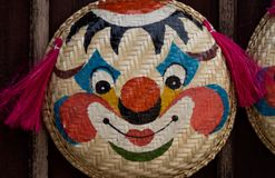 Сторона клоуна Стоковое Изображение RF