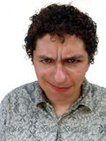 сторона мальчика смешная стоковое изображение rf