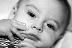 сторона младенца Стоковая Фотография