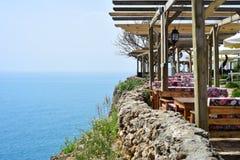 Сторона моря гостиницы Стоковая Фотография