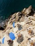 сторона моря кафа Стоковая Фотография RF