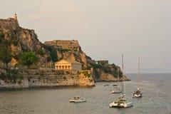 сторона моря крепости строения старая Стоковые Фото