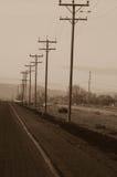 сторона дороги Стоковая Фотография