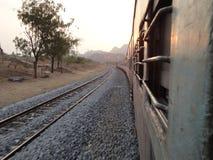 Сторона поезда Стоковое фото RF