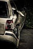 Сторона разбила автомобиль стоковые фото