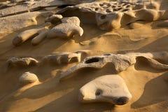 сторона размывания Кипра скалы Стоковая Фотография RF