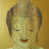 Сторона раздумья картины иллюстрации Будды Стоковое Фото