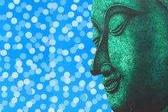 Сторона раздумья картины иллюстрации Будды Стоковое фото RF
