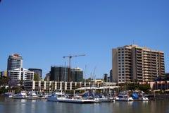 Сторона реки города Brisbane Стоковое Фото