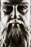 Сторона сильного бокового светлого прифронтового взгляда Леонардо Да Винчи вся стоковая фотография