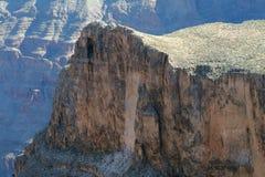 сторона скалы каньона Стоковое Фото