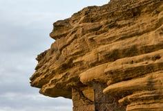 Сторона скалы Burghead Стоковое Изображение