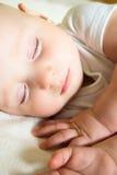 Сторона спать младенца Стоковые Фотографии RF