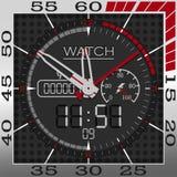 Сторона спорт Smartwatch Стоковая Фотография RF