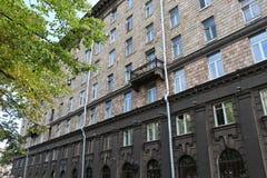 Сторона старого здания Стоковые Фотографии RF
