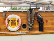 Сторона старого парусного судна Стоковая Фотография RF