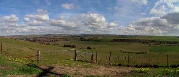 сторона страны панорамная стоковые фото