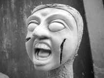 Сторона ужаса Стоковые Изображения