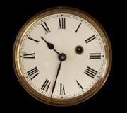 сторона часов старая стоковое изображение