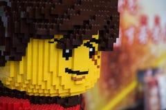 сторона человека lego на Японии Legoland стоковая фотография