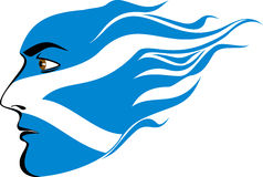 Сторона шотландских людей Стоковое Изображение RF